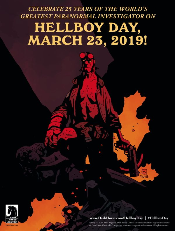 Dark Horse Comics Announces Hellboy Day Celebration in 2019
