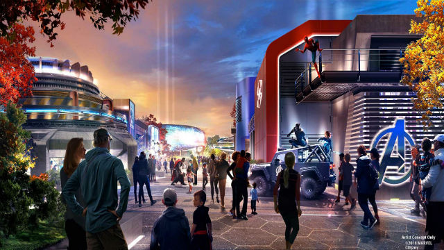 Avengers fans, get ready to assemble at Disneyland Paris Marvel hub
