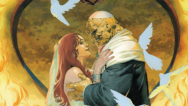 First Look At the Thing's Wedding in Fantastic Four #5