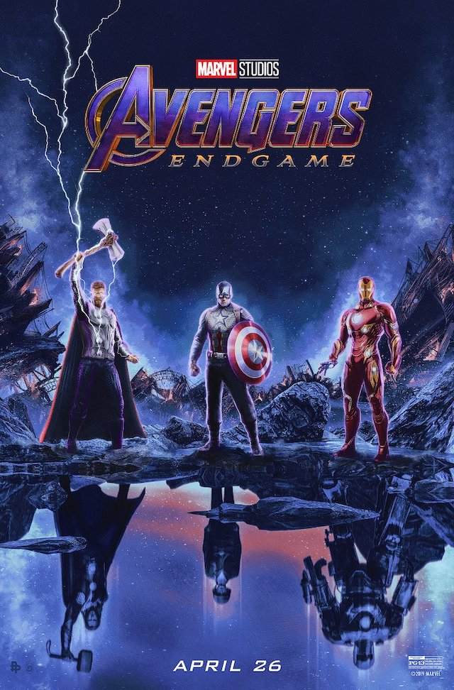 New Avengers Endgame Poster Is A Blast From The Past