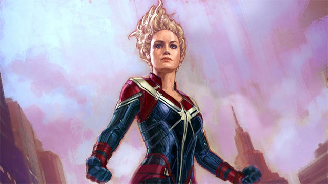 Marvel Concept Artist Shares Alternate Captain Marvel Design