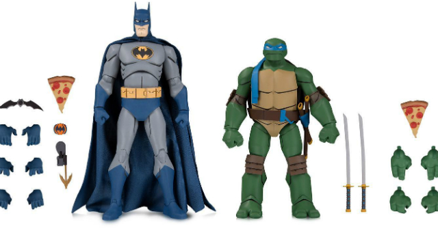 Batman vs. TMNT Action Figure Sets Coming to Gamestop
