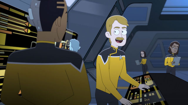 The First Clip From Star Trek: Lower Decks' Introduces Our Motley Heroes