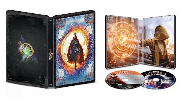 Doctor Strange Steelbook Edition