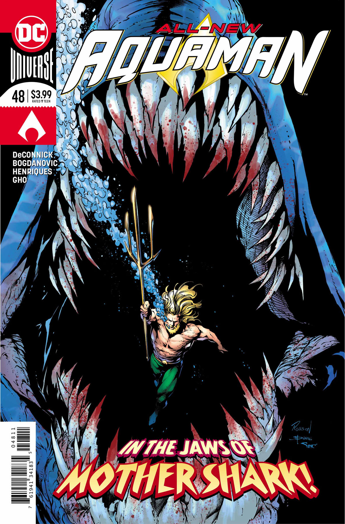 Aquaman #48 cover