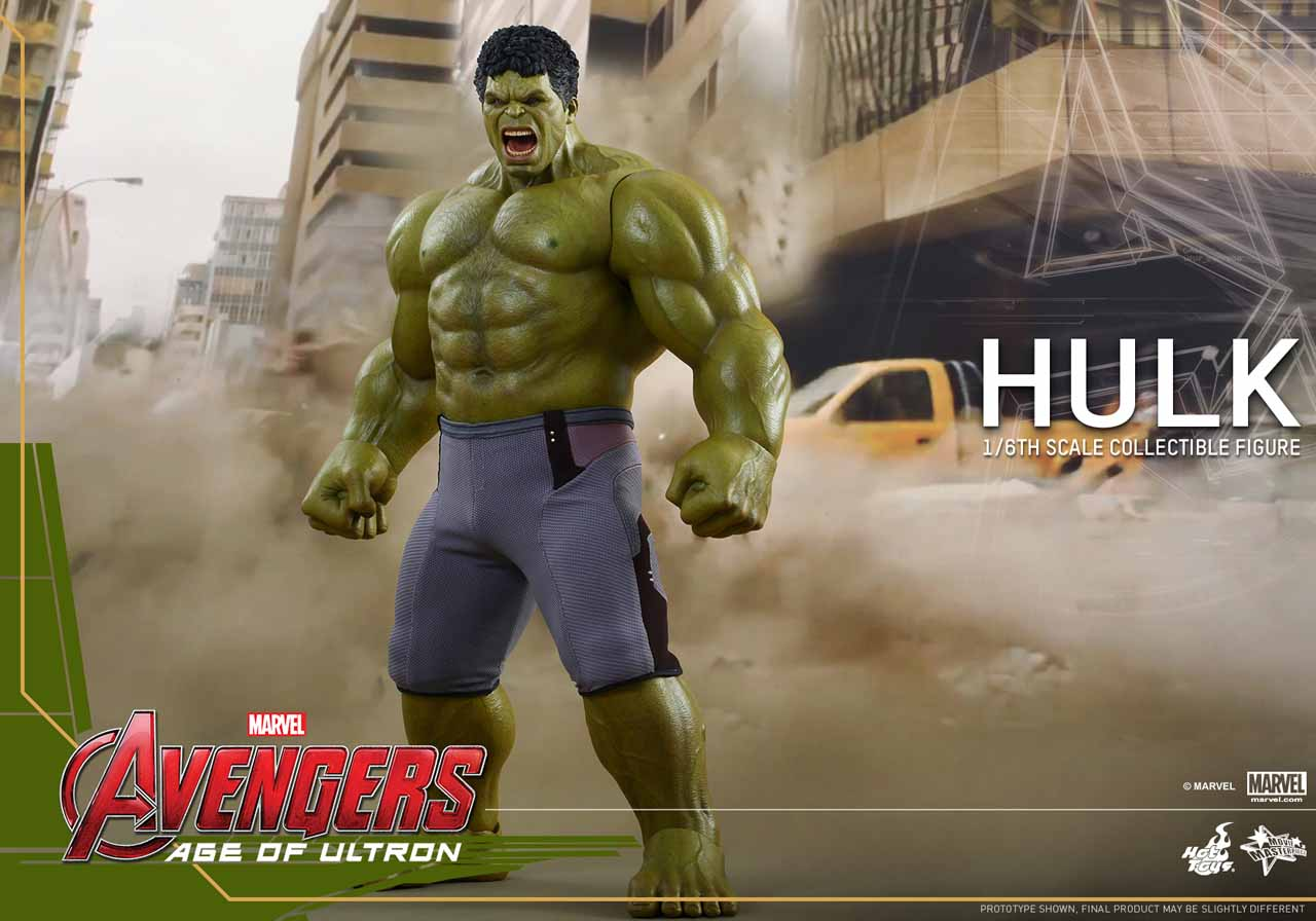 Avengers: Age of Ultron 1/6th Scale Hulk