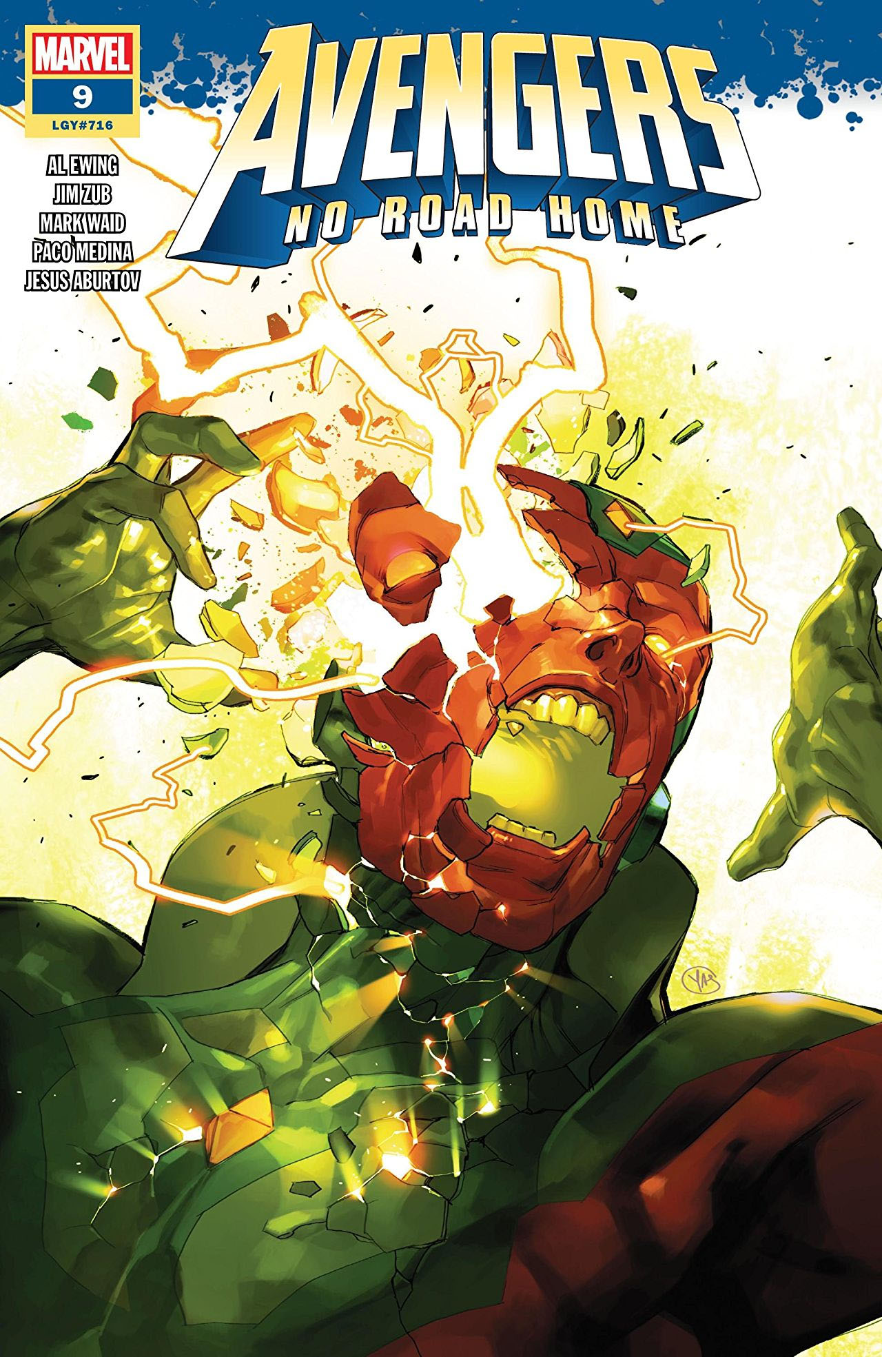 Avengers: No Road Home #9 cover