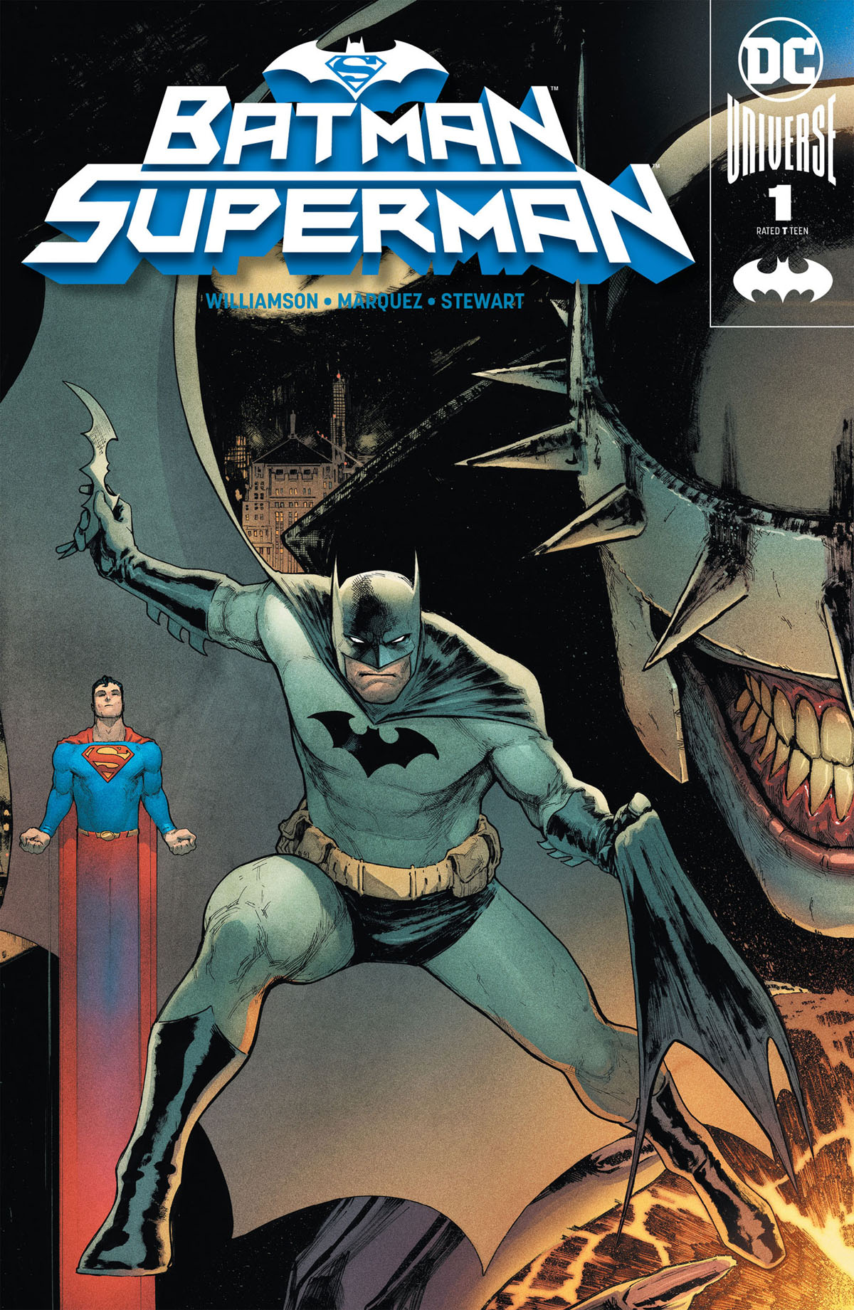 Batman/Superman #1 cover a