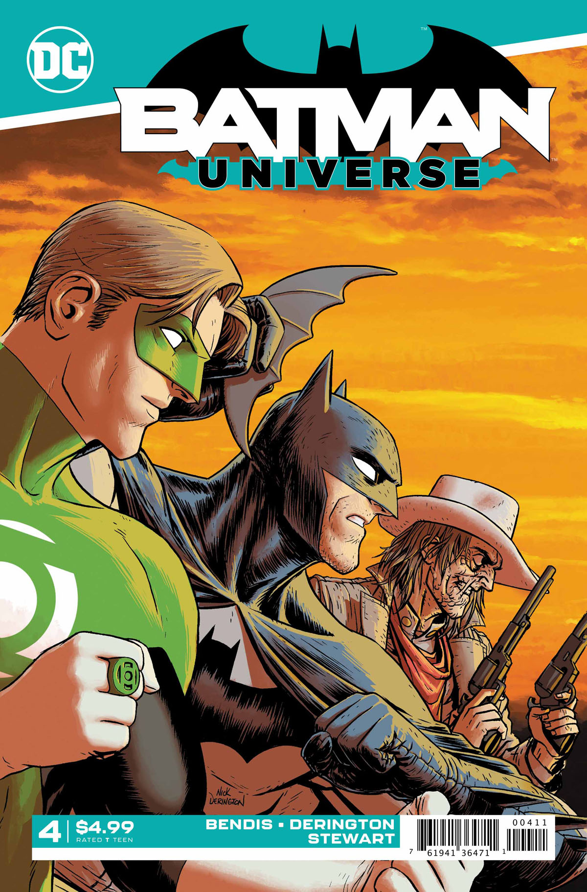 Batman Universe #4 cover