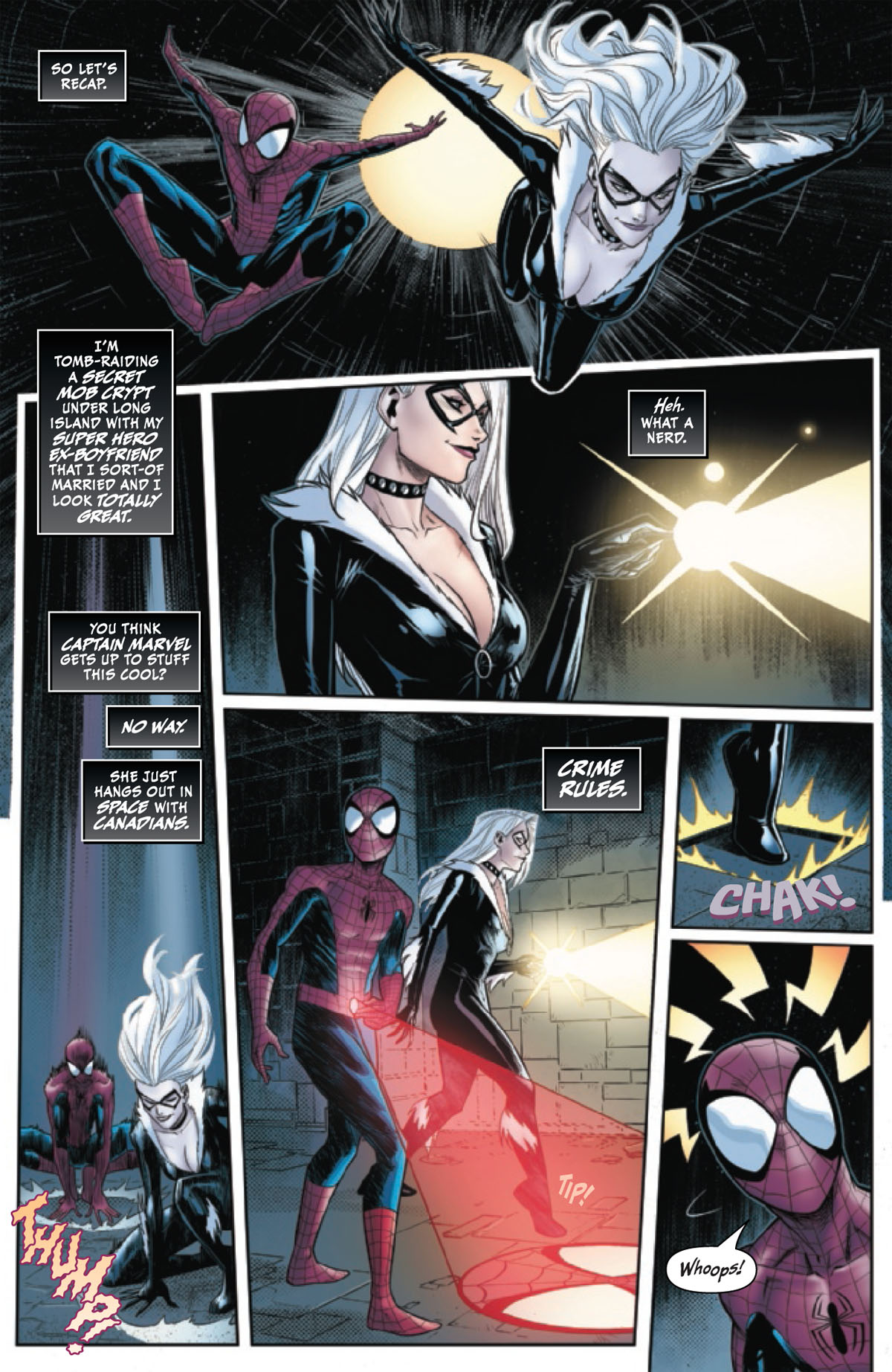 Black Cat Annual #1 page 5