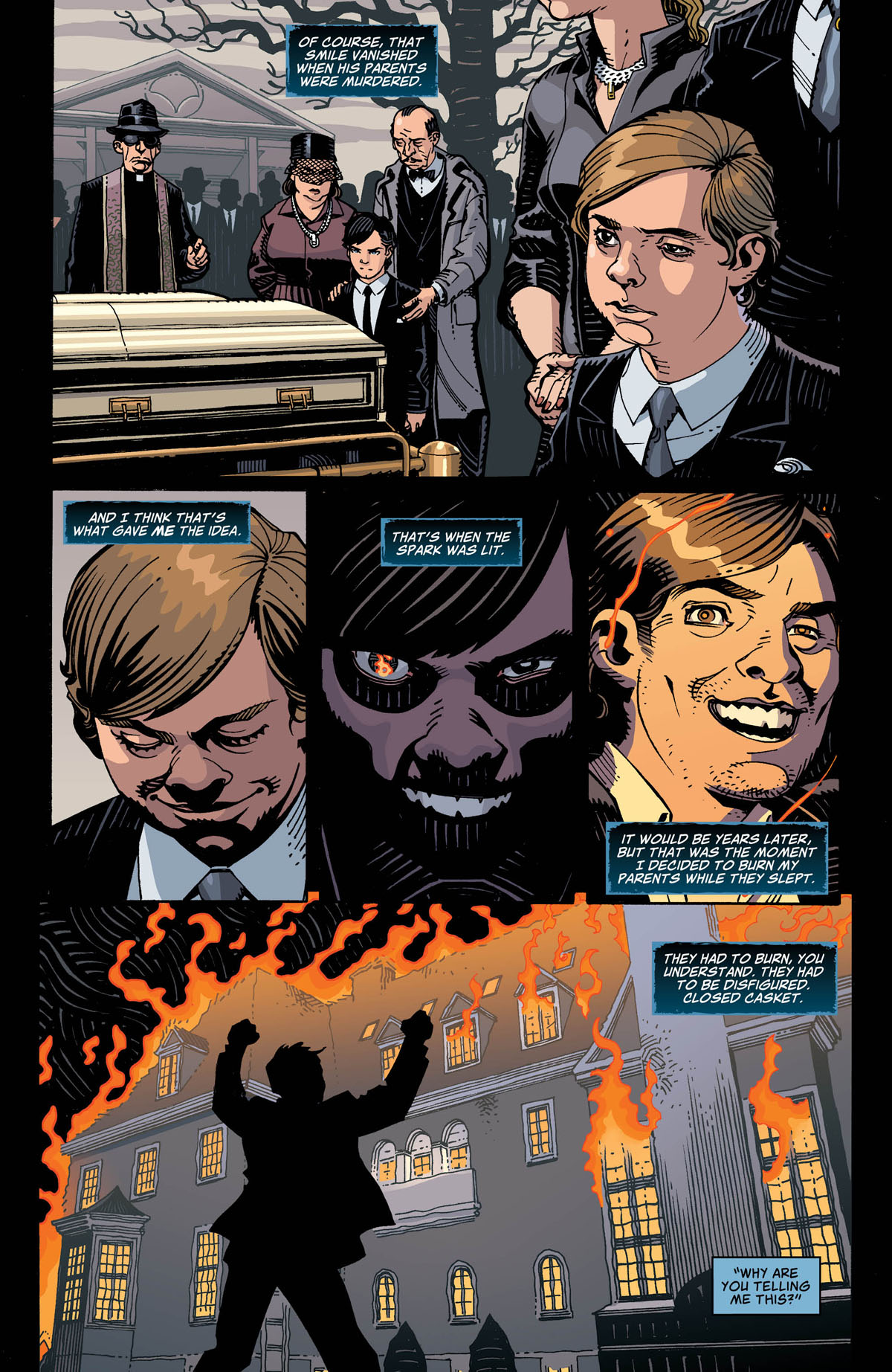 Black Mask: Year of the Villain #1 page 2