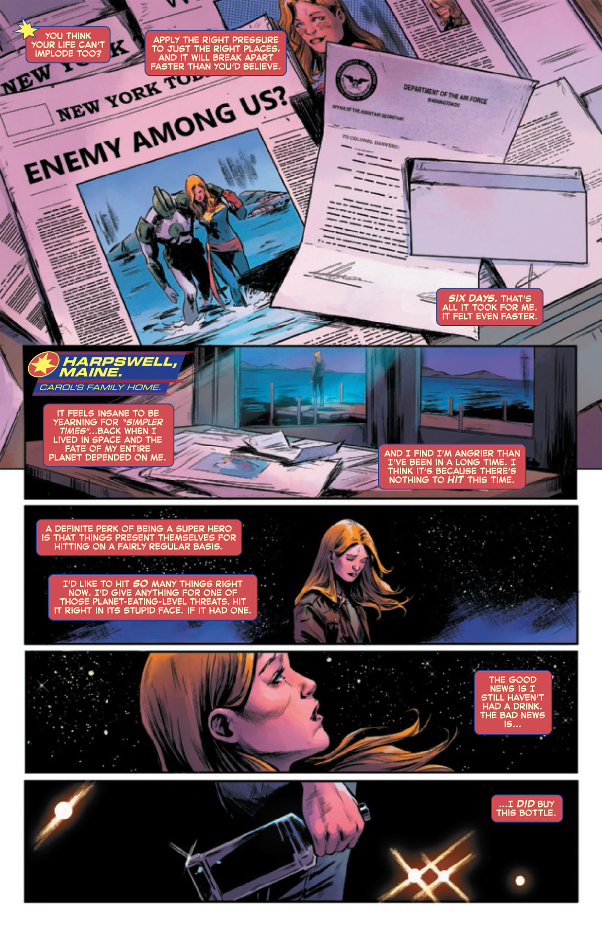 Captain Marvel #8 page 1