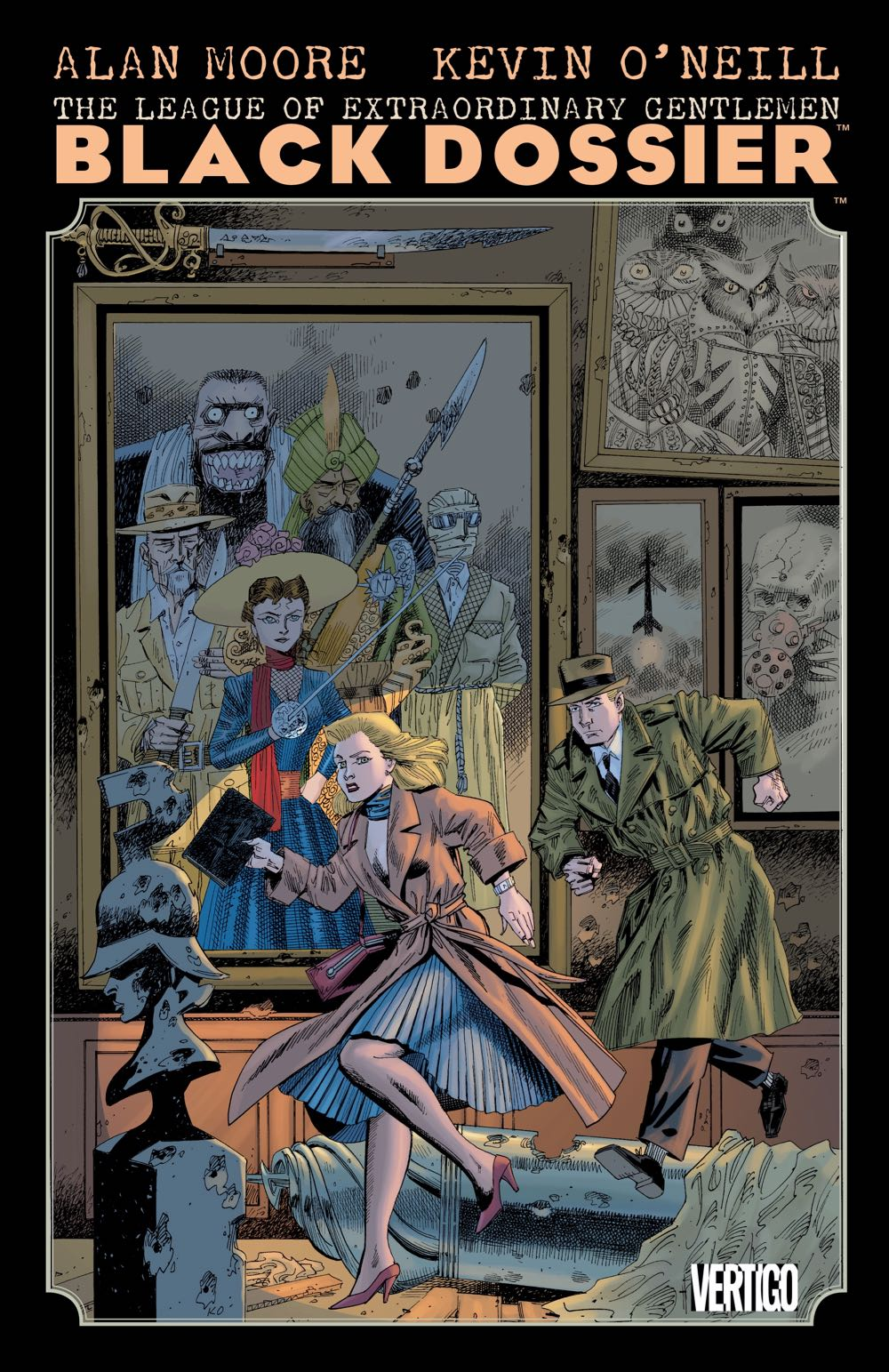 THE LEAGUE OF EXTRAORDINARY GENTLEMEN: THE BLACK DOSSIER TP NEW PRINTING