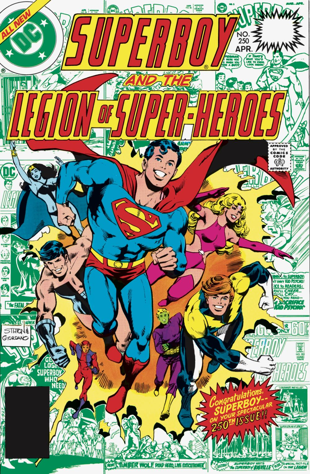 SUPERBOY AND THE LEGION OF SUPER-HEROES VOL. 2 HC