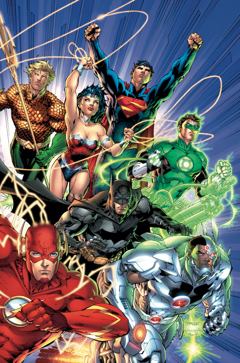 ABSOLUTE JUSTICE LEAGUE: ORIGIN HC