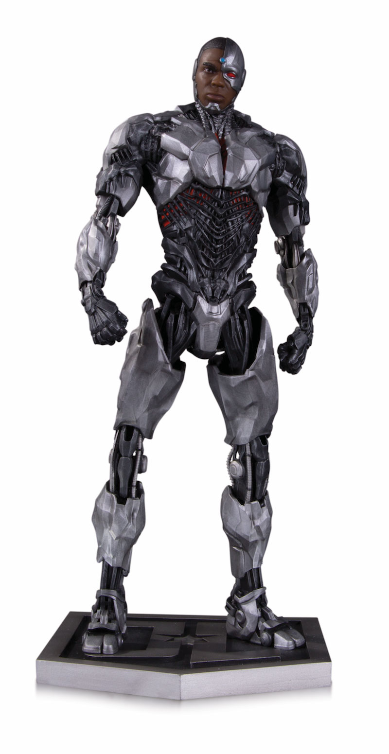 JUSTICE LEAGUE MOVIE STATUES: CYBORG