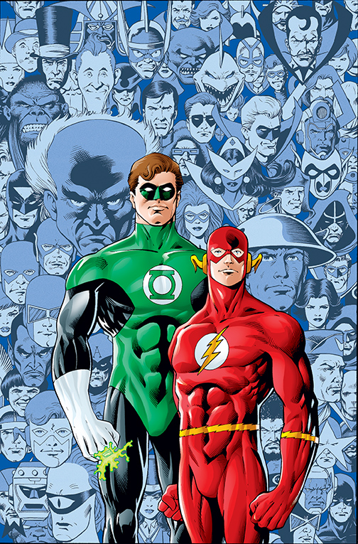 THE FLASH/GREEN LANTERN: THE BRAVE AND THE BOLD DELUXE EDITION HC