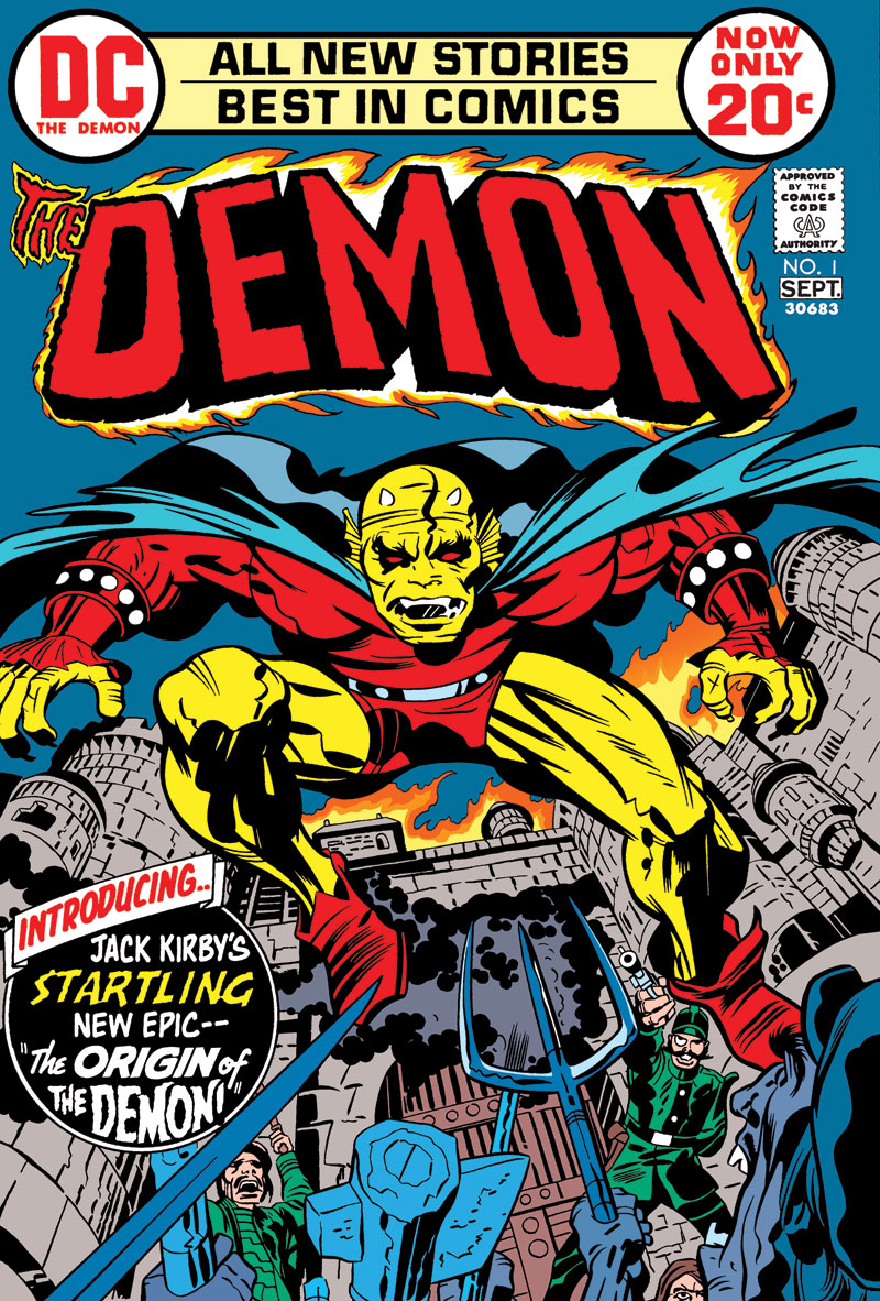 THE DEMON BY JACK KIRBY TP