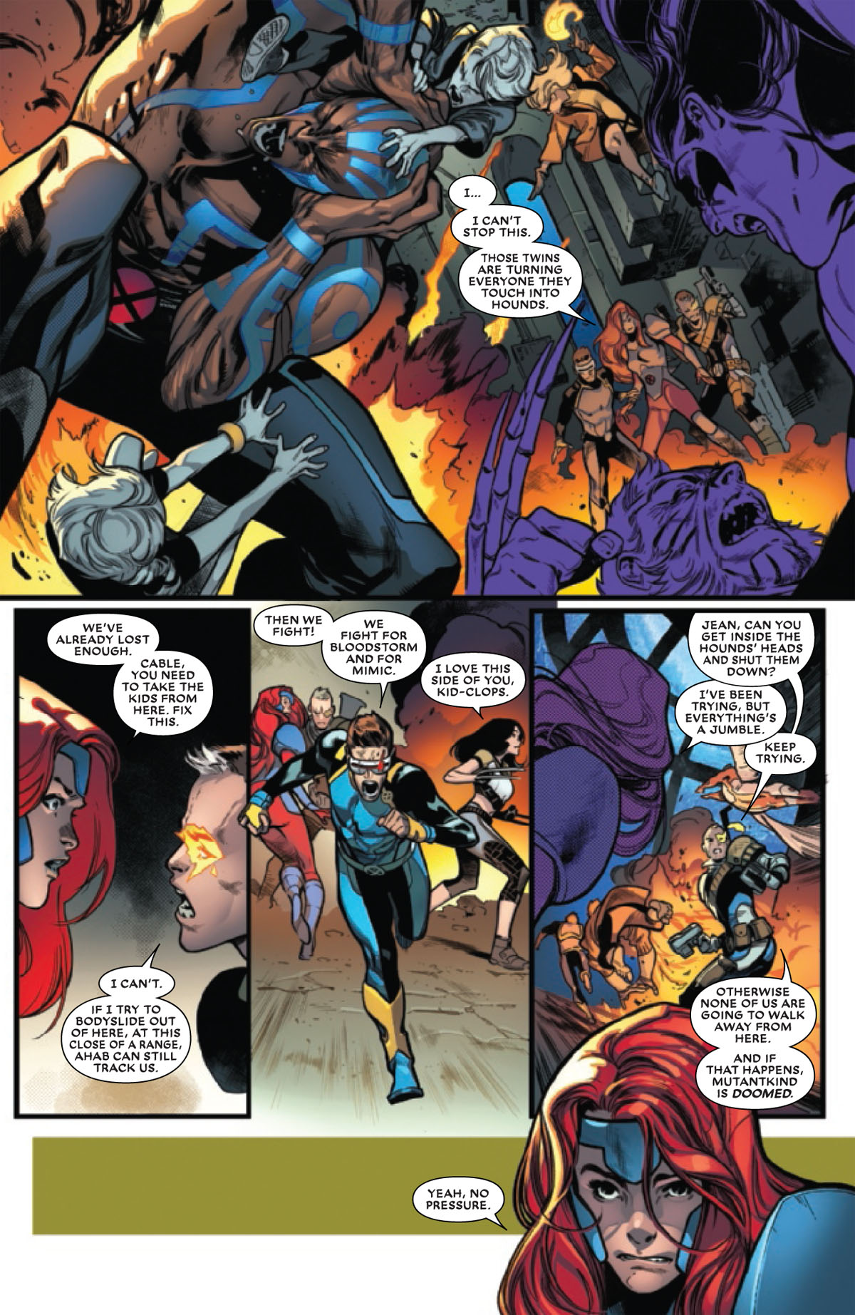 Extermination #5 page 3