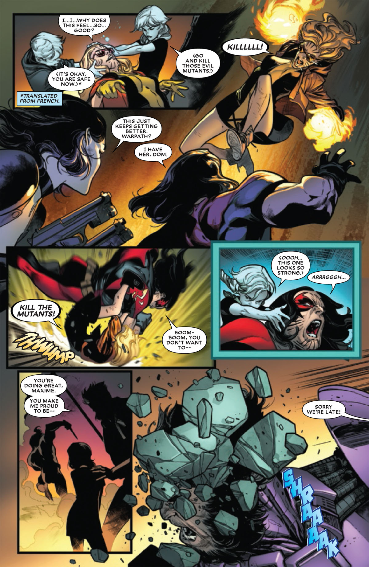 Extermination #5 page 4