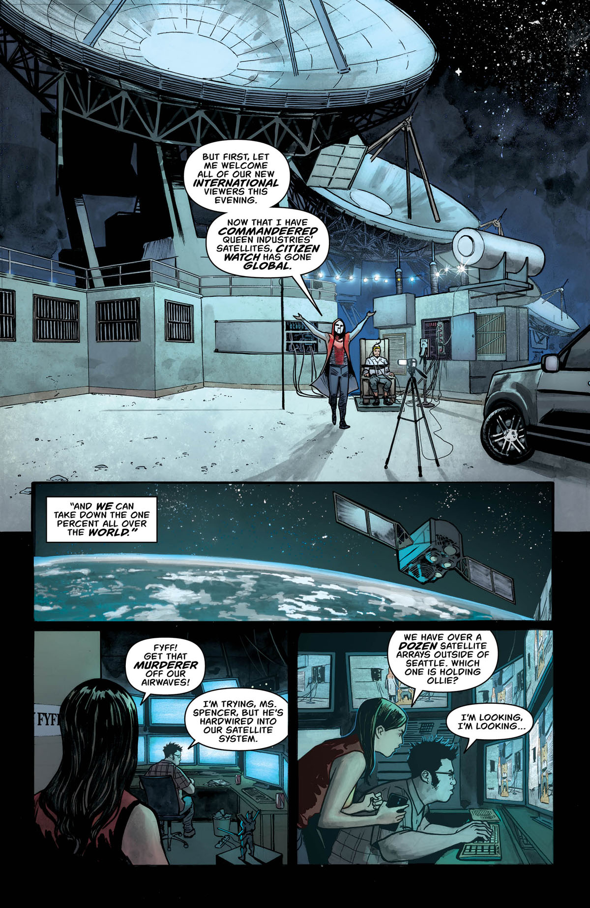 Green Arrow #47 page 3