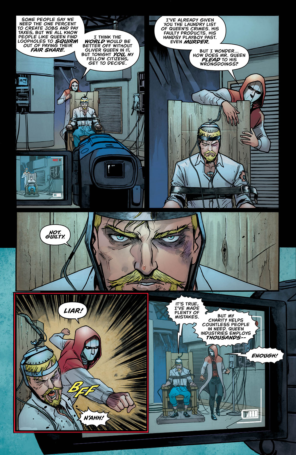 Green Arrow #47 page 4