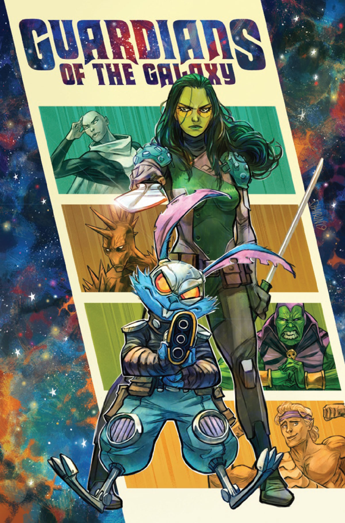 Guardians of the Galaxy #3 cover