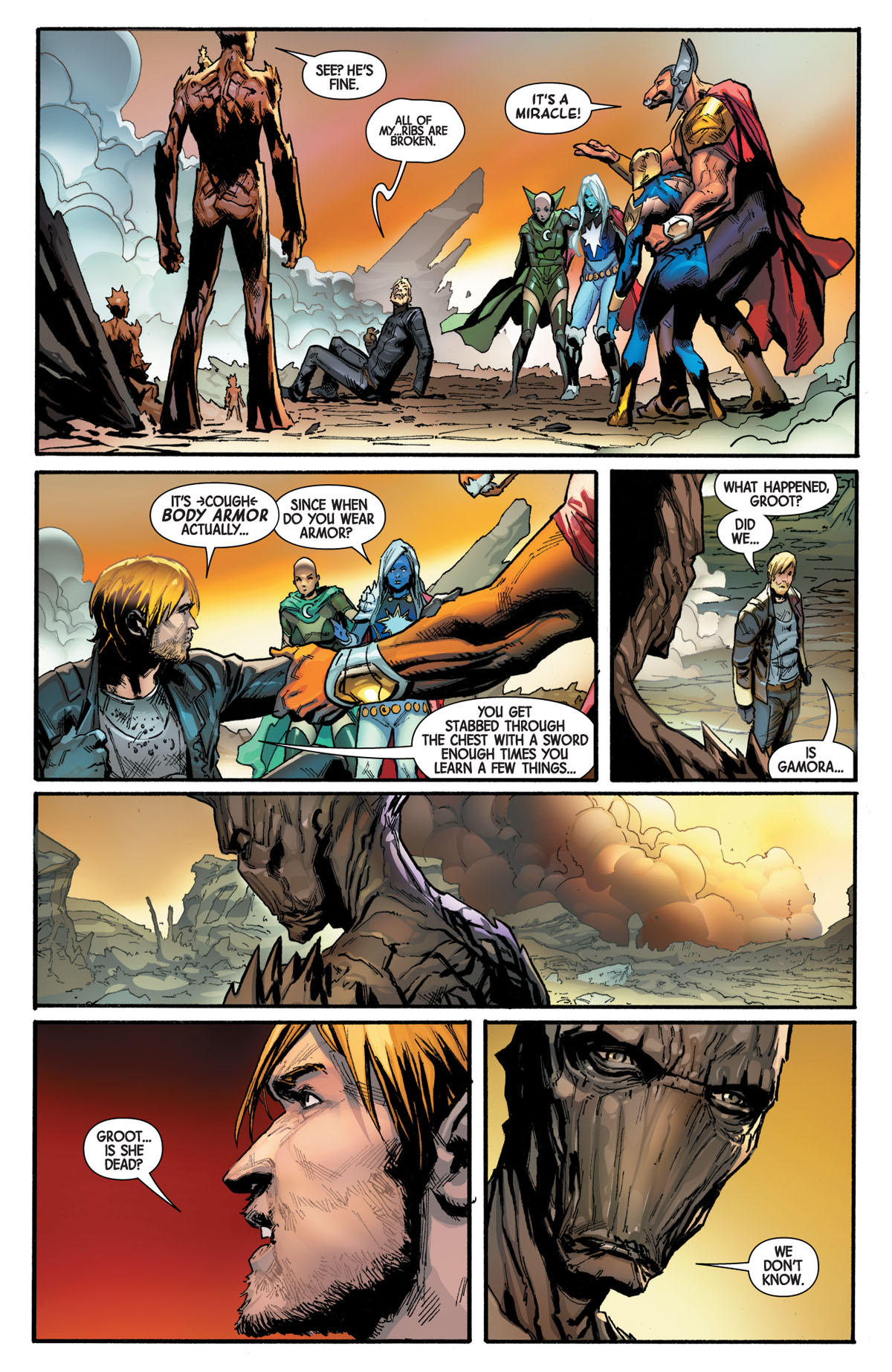 Guardians of the Galaxy #5 page 2