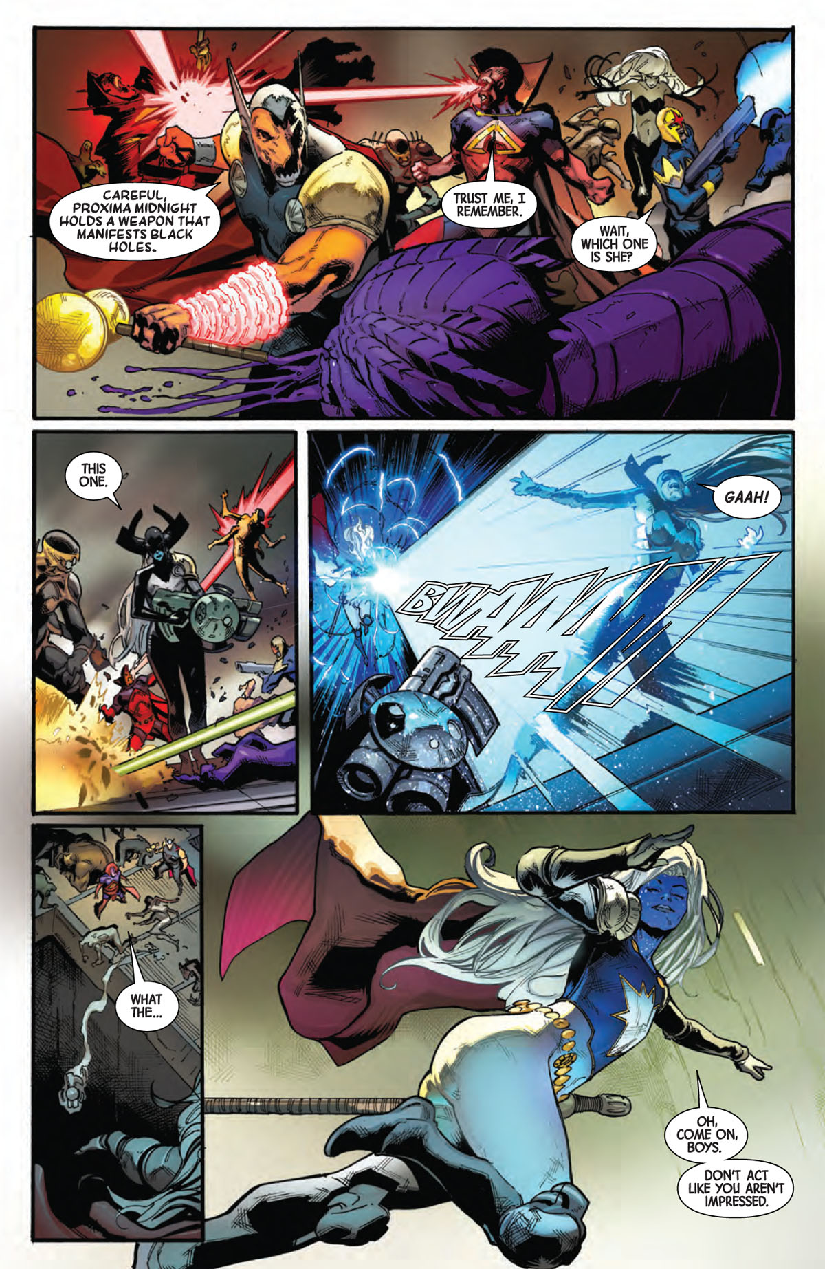 Guardians of the Galaxy #6 page 5