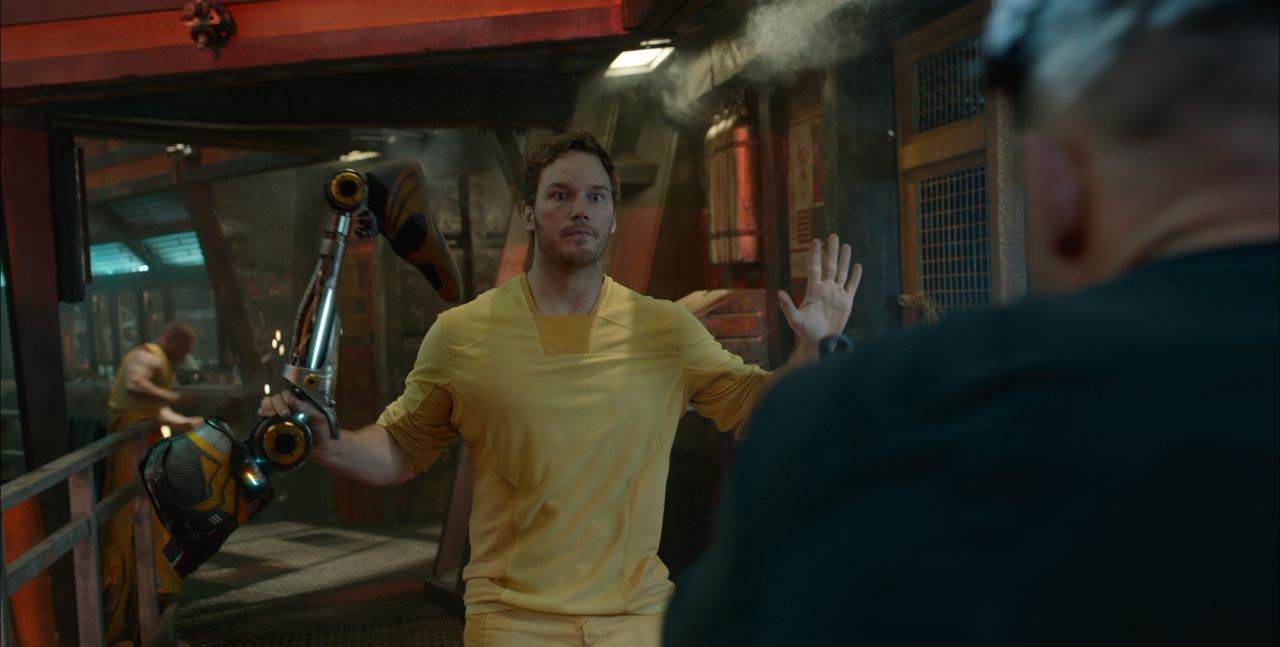 Marvel's Guardians Of The Galaxy  Star-Lord/Peter Quill (Chris Pratt)  Ph: Film Frame  ©Marvel 2014