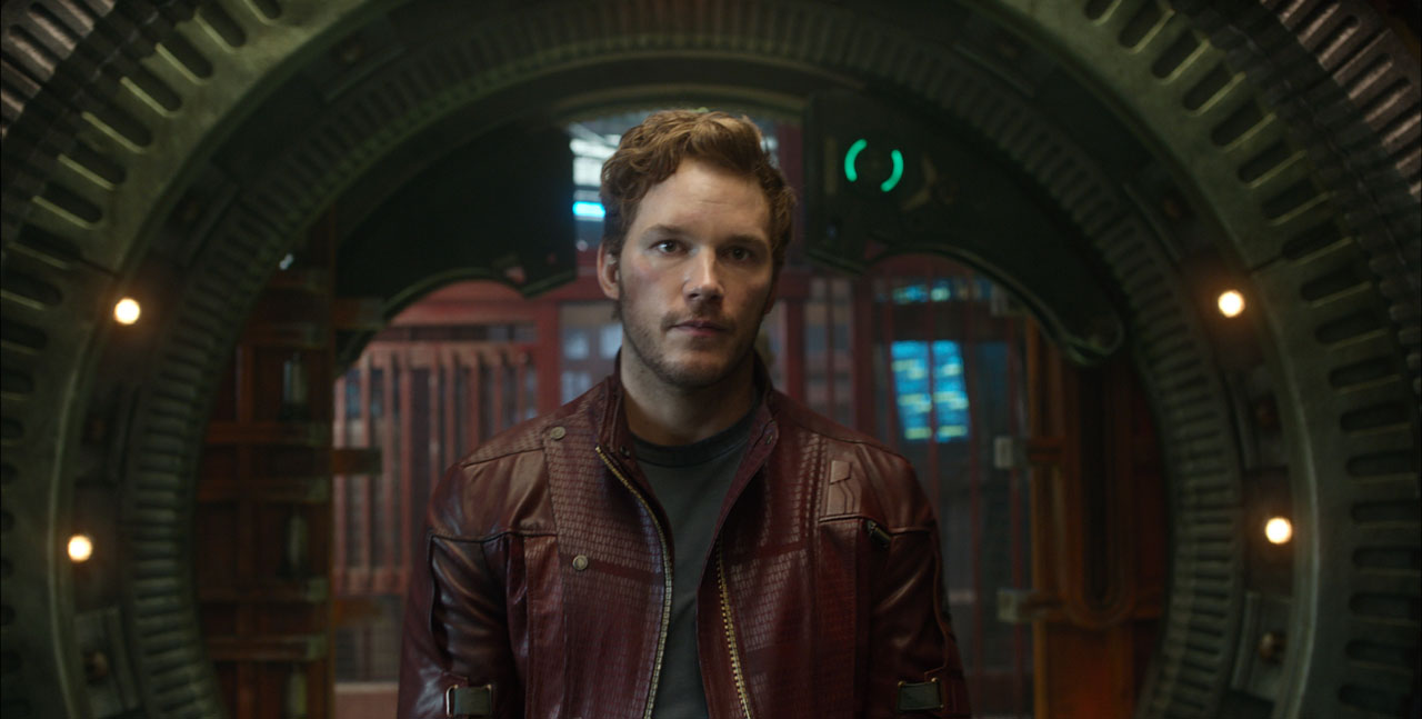 Marvel's Guardians Of The Galaxy  Peter Quill/Star-Lord (Chris Pratt)  Ph: Film Frame  ©Marvel 2014