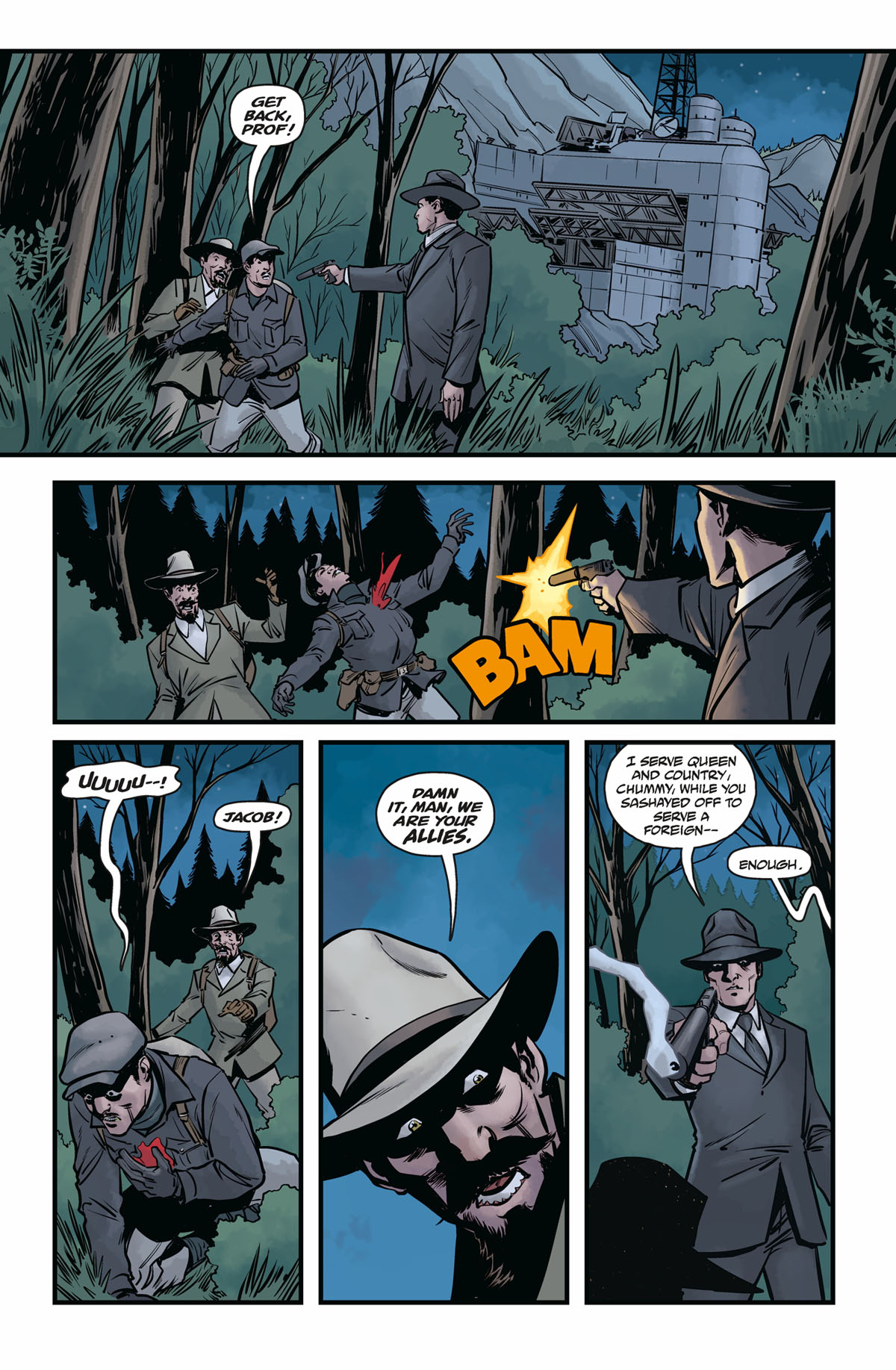 Hellboy and the BPRD 1956 #4 page 1