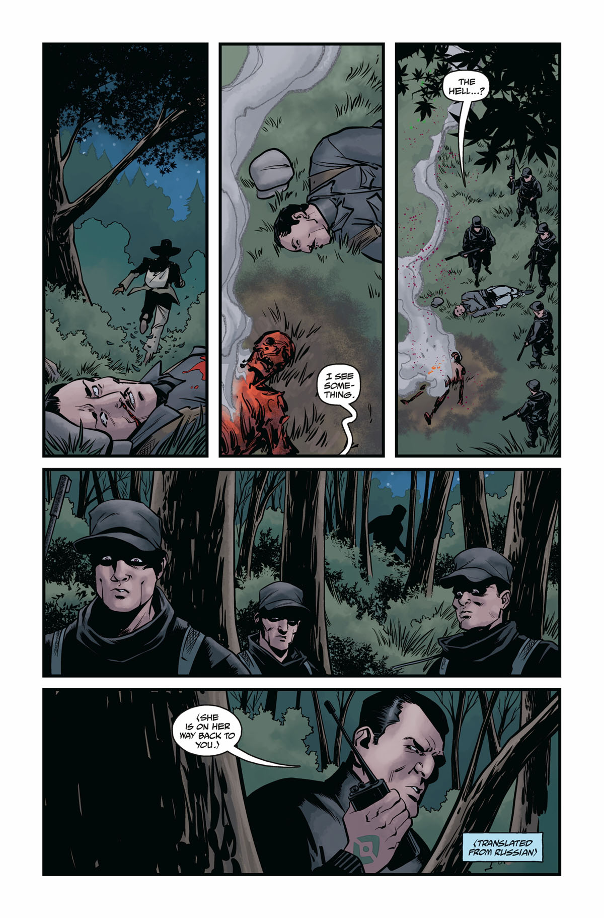 Hellboy and the BPRD 1956 #4 page 5