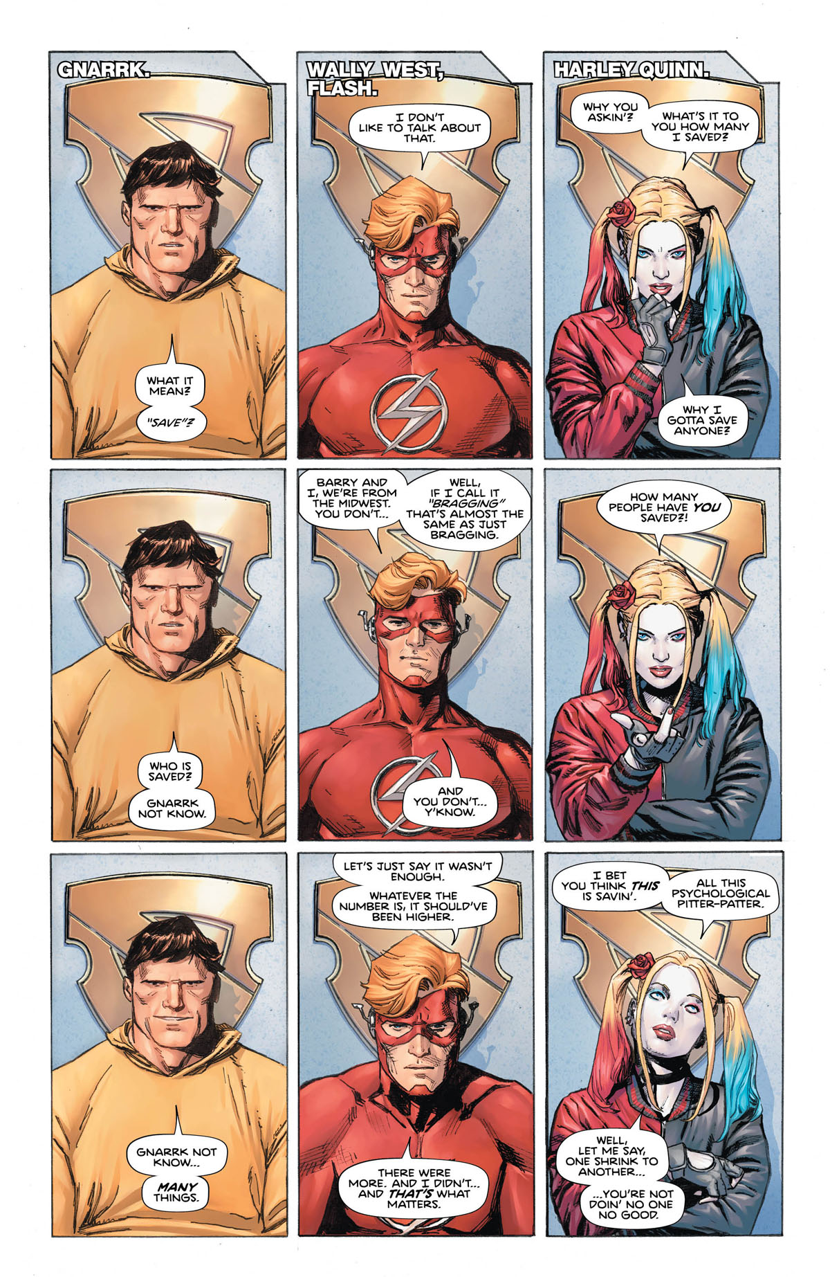 Image result for Heroes in Crisis #6