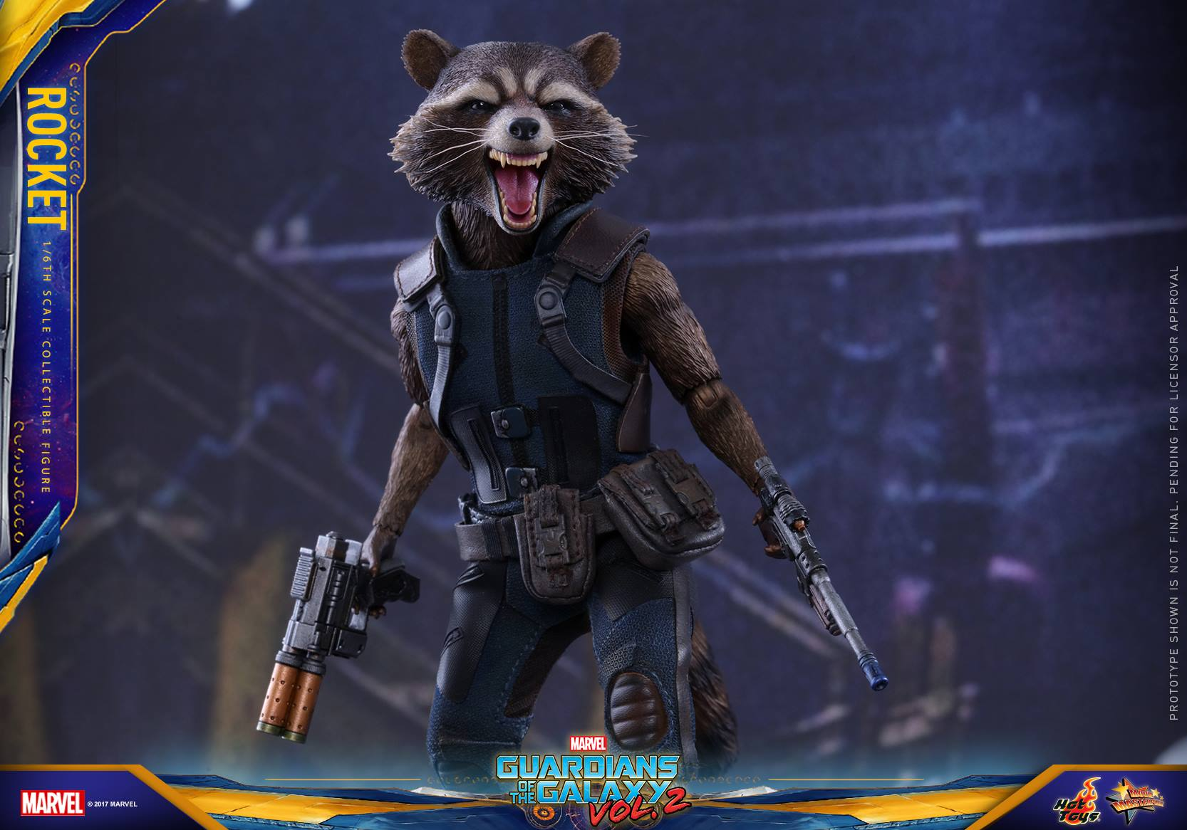 GOTG Vol. 2 - 1/6th scale Rocket Collectible Figure