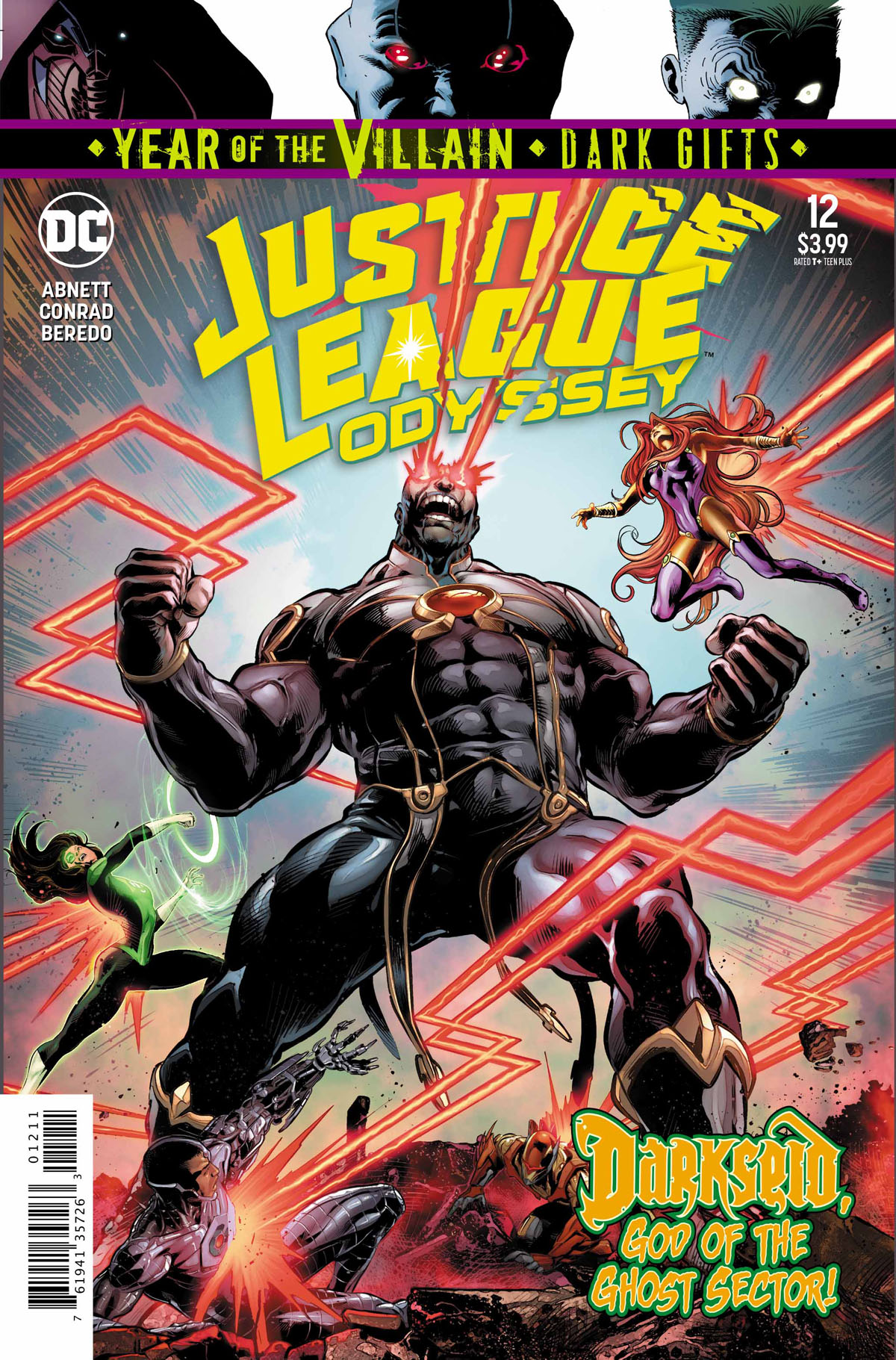 Justice League Odyssey #12 cover