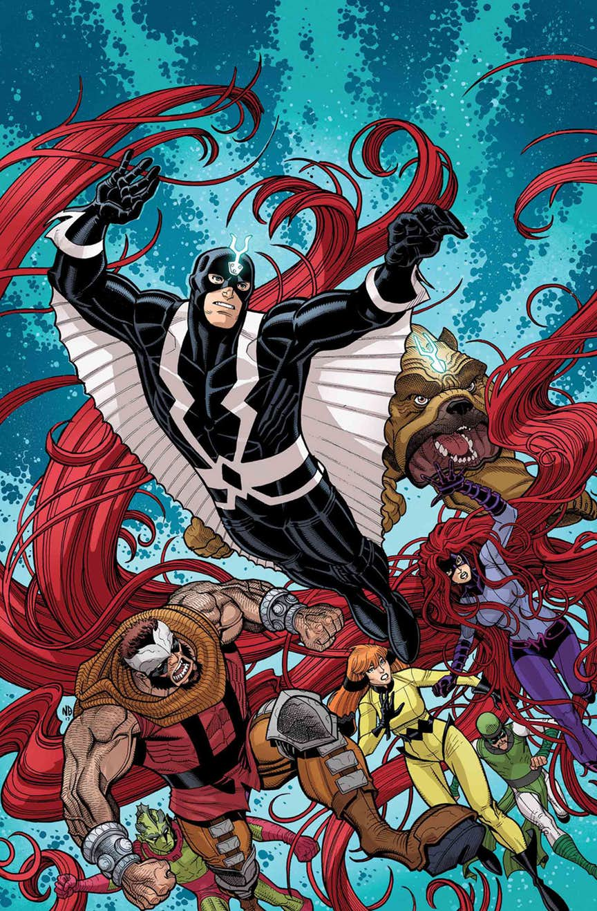 INHUMANS: ONCE AND FUTURE KINGS #5 (of 5)