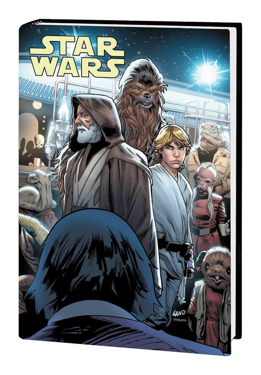 STAR WARS: A NEW HOPE — THE 40TH ANNIVERSARY HC