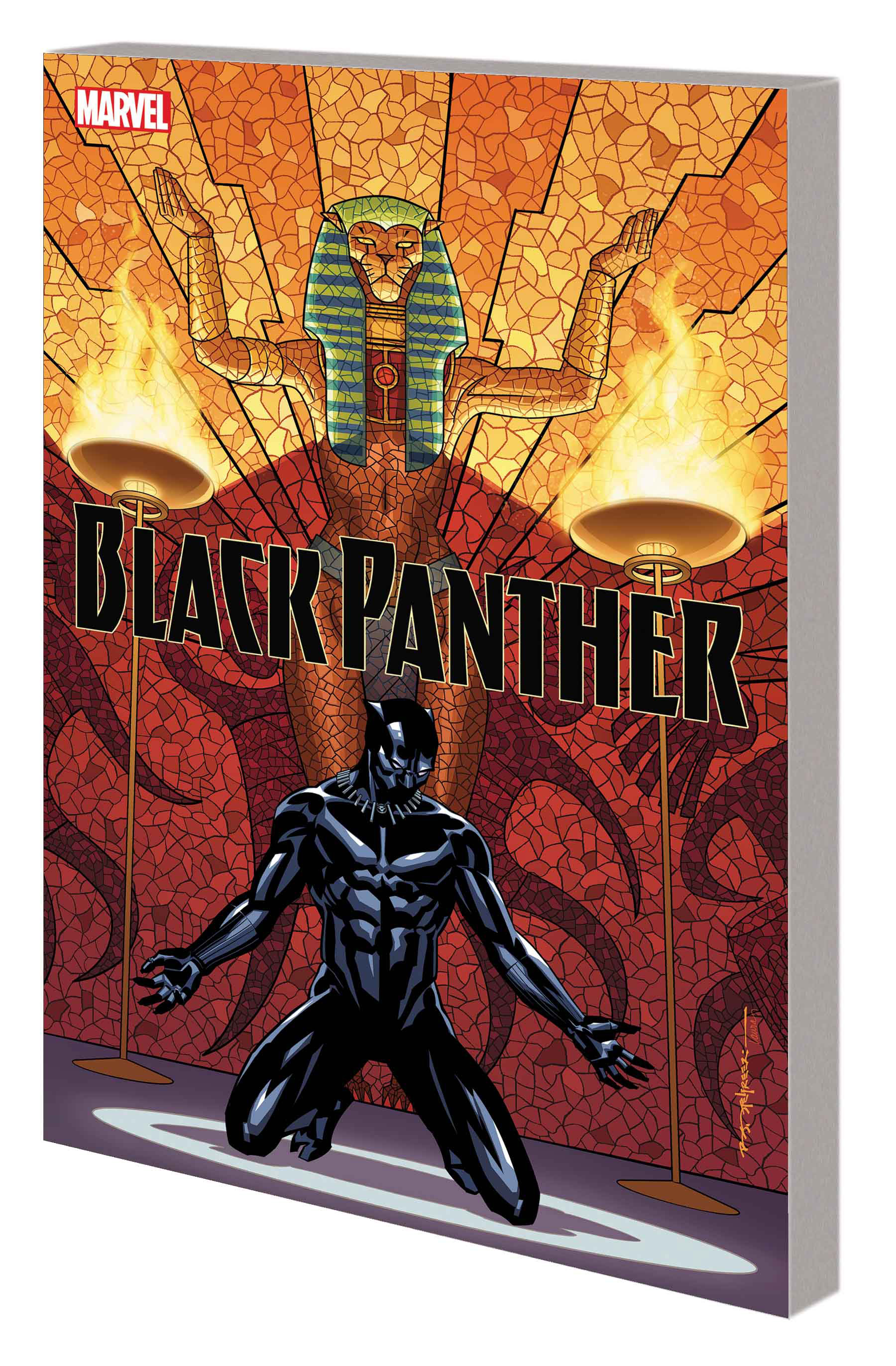 BLACK PANTHER BOOK 4: AVENGERS OF THE NEW WORLD PART 1 TPB