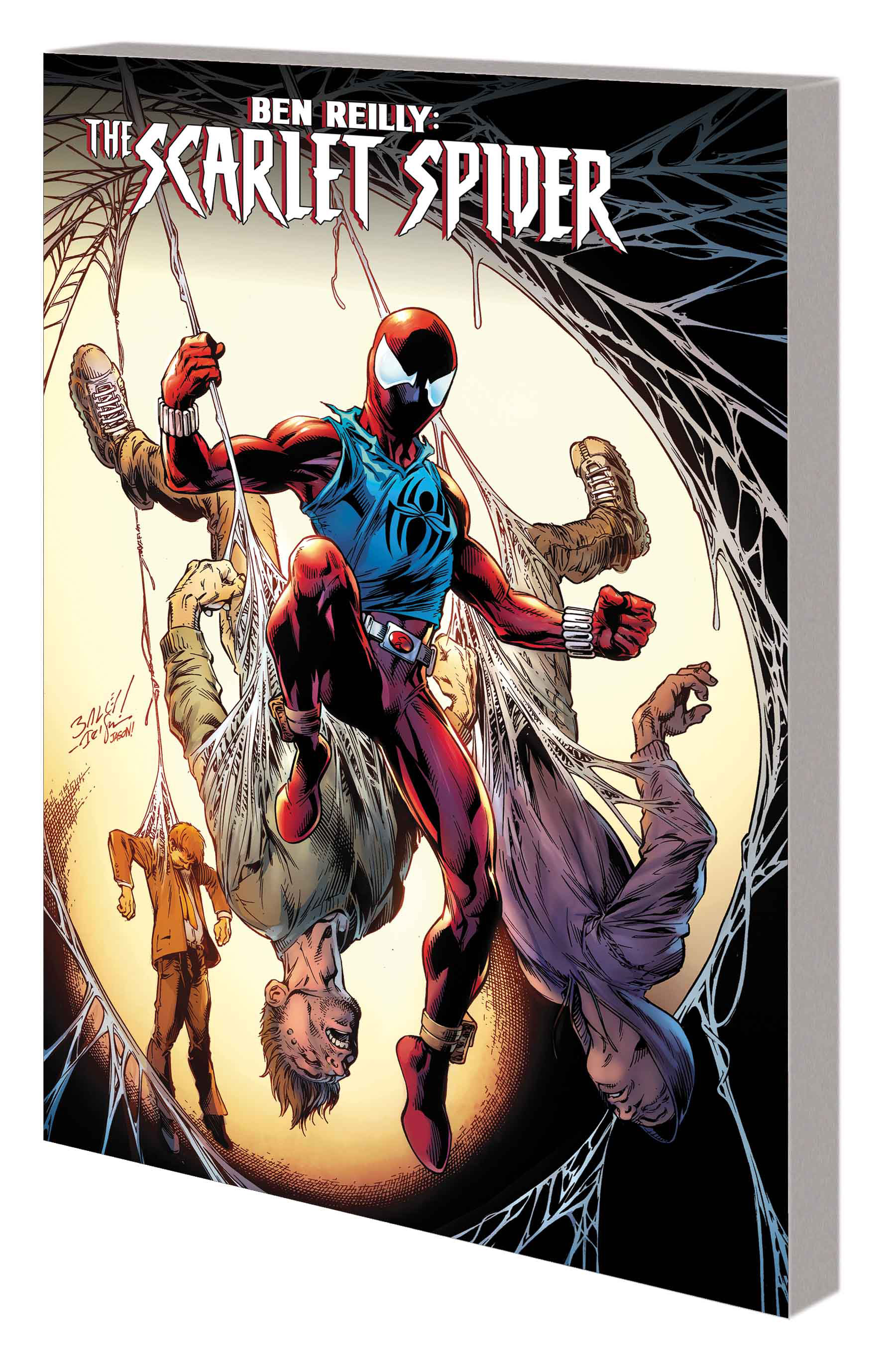 BEN REILLY: SCARLET SPIDER VOL. 1 — BACK IN THE HOOD TPB