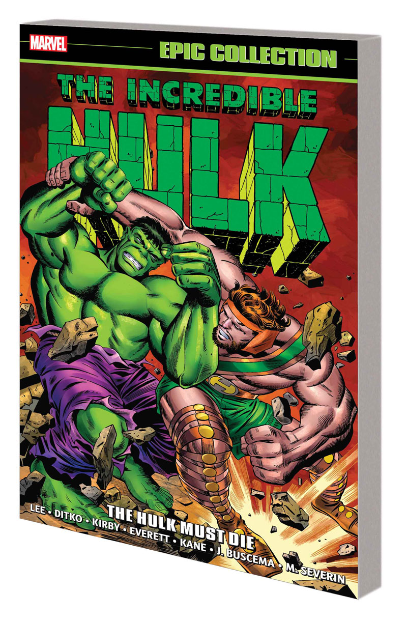 INCREDIBLE HULK EPIC COLLECTION: THE HULK MUST DIE TPB