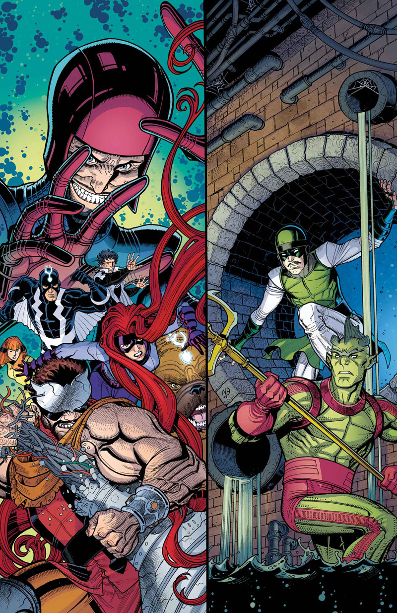 INHUMANS: ONCE AND FUTURE KINGS #3 (of 5)