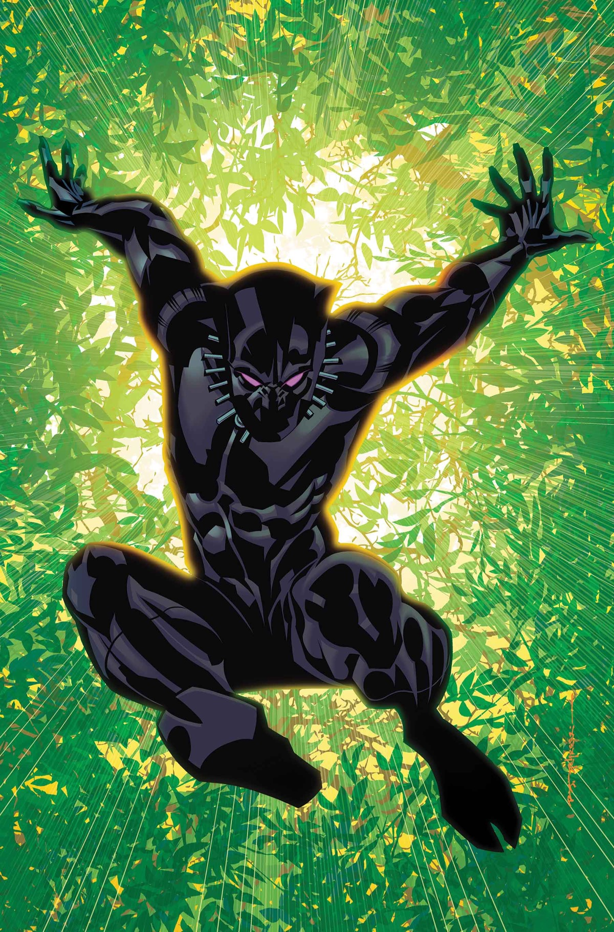 BLACK PANTHER ANNUAL #1 VARIANT