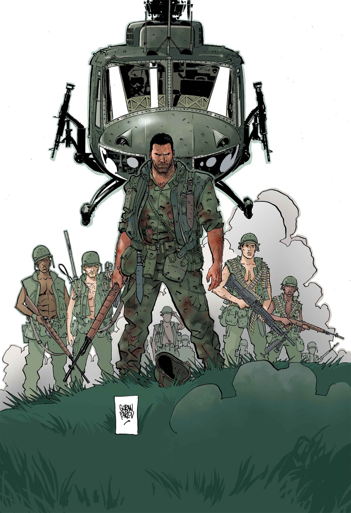 PUNISHER: THE PLATOON #6 (of 6)