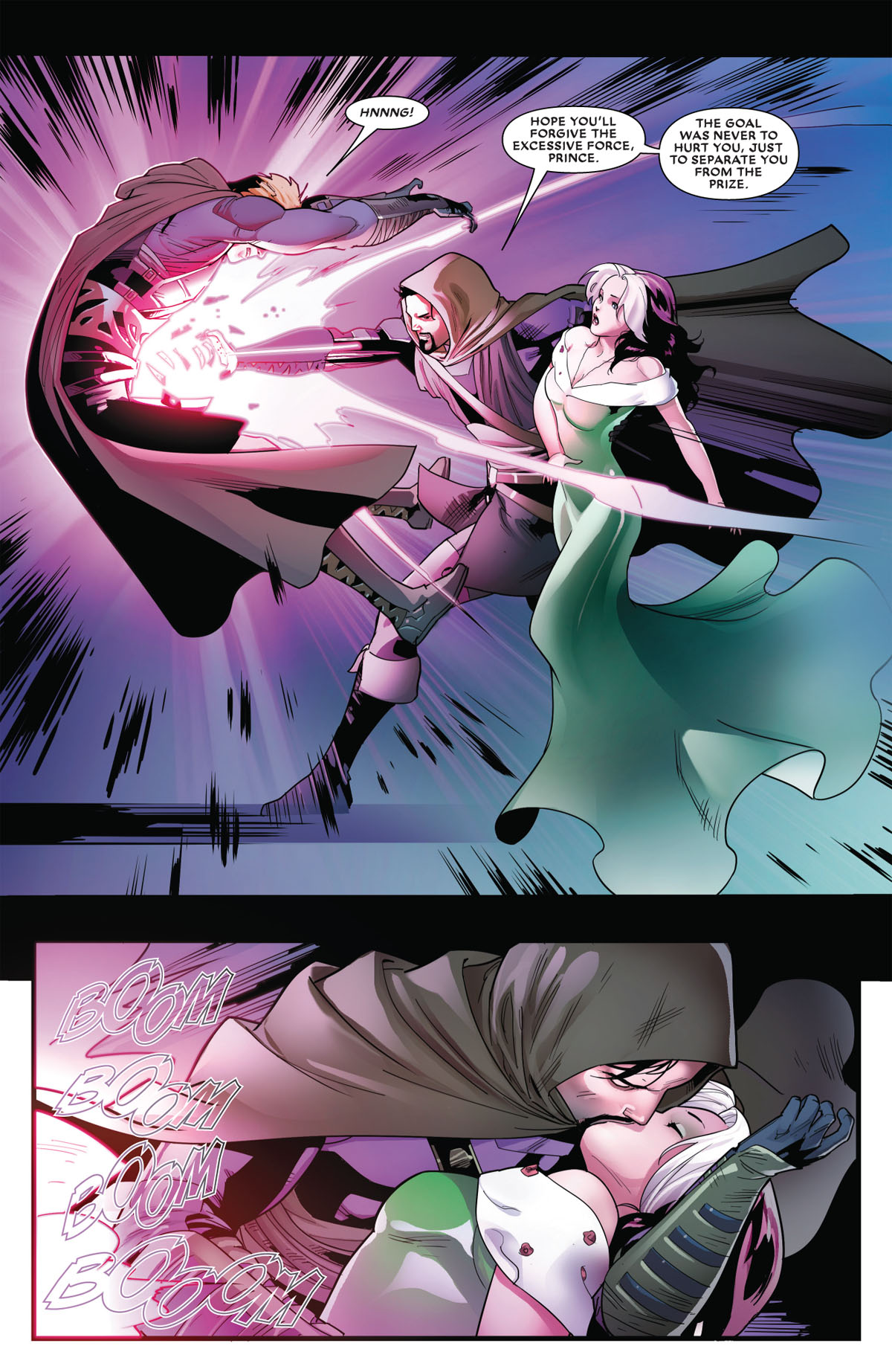 Mr. and Mrs. X #8 page 5