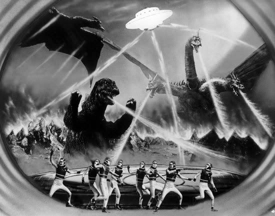 Invasion of the Astro Monster