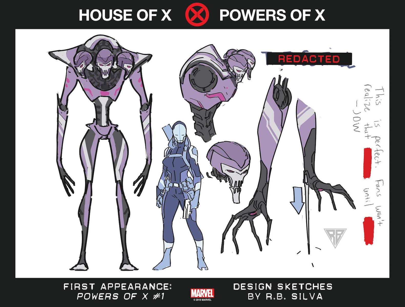 Powers of X Character 1
