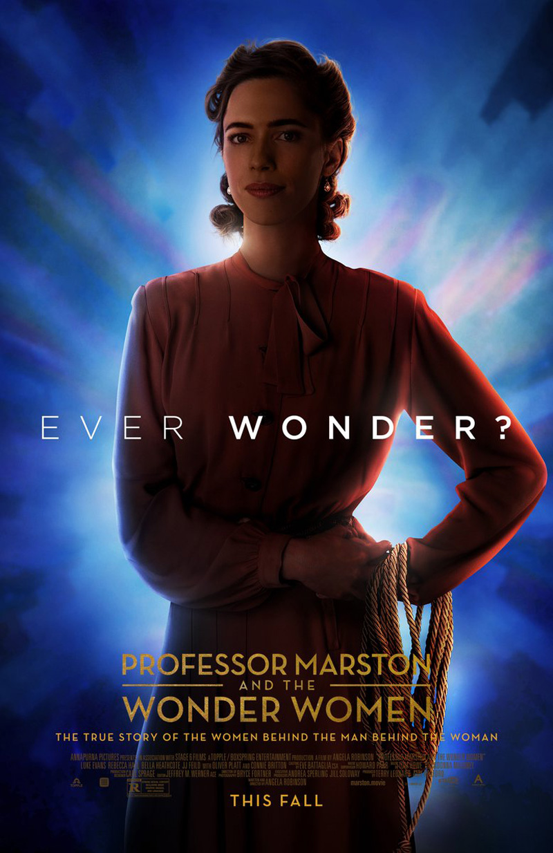 New Professor Marston and the Wonder Women Posters