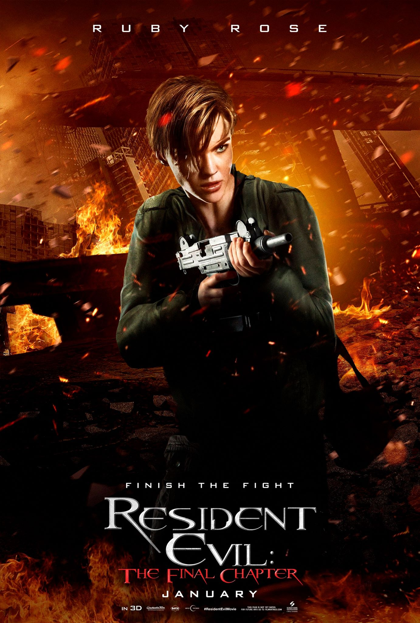 Resident Evil The Final Chapter Clip Traps Milla Jovovich