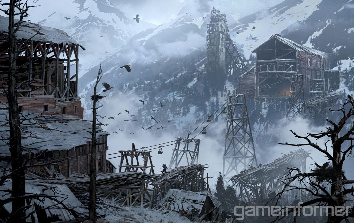 Rise of the Tomb Raider Concept ARt